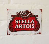 Stella Artois larger METAL SIGN 2 Sizes Available ideal for pub bar Man Cave