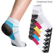 Calcetines de compresión  pie manga Artritis planta Dolor talón doloroso 6 par