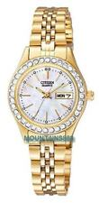 EQ0532-55D,CITIZEN Watch,MadeWithSWAROVSKI®ELEMENTS,Mother Of Pearl Dial,WR,Lady