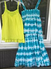 Girls Sundress And Tunic Top From Calypso St. Barth For Target Sz 4/5
