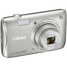 Nikon COOLPIX S3700 20.1MP 8x Optical Zoom Digital Camera w/ Wi-Fi & NFC