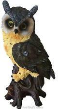 Owl Poly Resin Statue Figurine Home Decor Ornament Sculpture