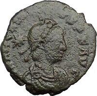Arcadius & THEODOSIUS II & Honorius 406AD Aithentic Ancient Roman Coin i32684