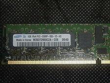 Samsung M393T2950CZA-CE6  1GB 1RX4 PC2-5300P 667MHZ ECC Server Memory
