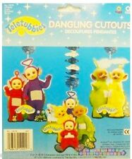TELETUBBIES HANGING DANGLING CUTOUTS (3) ~ HTF Rare Party Supplies decoration