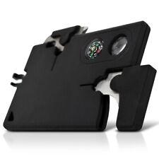 Multi-tool Card – 9 Tools, Black, 2″ Blade