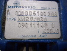 Motovario NMRV/030 Reducer + Carpanelli M56B4 MotoR