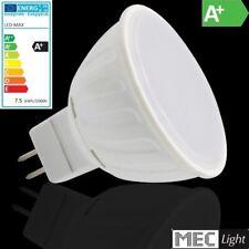 MR16/GU5,3 LED Strahler - 7,5W - 570Lm - 120° - 12V - warm-white (3000K)
