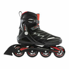 Rollerblade Advantage Pro XT Adult Men's Fitness Inline Skate, Size 7 - Black/Red