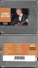 CD DANS BOITIER MÉTAL 12T JOHNNY HALLYDAY SOUVENIRS SOUVENIRS STEEL BOX NEUF