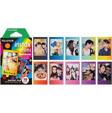 Fujifilm Instax Mini Film Rainbow for Fuji Mini Neo 90 8 7s 25 55i SP-1 300