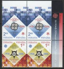 UKRAINE 2006 Mi 766A-767Ax2 50 Jahre Europamarken / 50 years of European stamps