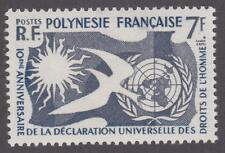 French Polynesia 1958 #191 Human Rights Issue - MNH