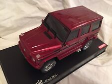 KYOSHO AUTOSCALE, A.S.C. MINI-Z OVERLAND MERCEDES G55L AMG RED, MVP7R