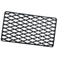 Zerbino rettangolare gomma dura 34x57 cm ingresso antiscivolo tappeto esterno