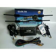 Mobile Car DVB-T2 Digital TV Receiver H.264 Real 4 Chip 160-180km/h sz