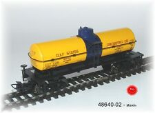 "Märklin 48640-02 A US Tin Plate Tank Car "" Gulf States "" 4-achsig # NEW ORIGINAL"