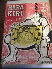 hara kiri mensuel No 3 décembre 1960