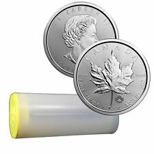 2017 Silver Maple 1 oz Silver Coin | Royal Canadian Mint Sealed Tube of 25