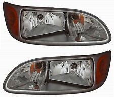 New Headlight PAIR FOR 2008-2010 2011 2012 2013 2014 2015 2016 Peterbilt 325 384