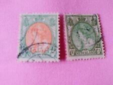 STAMPS - TIMBRE - POSTZEGELS - NEDERLAND - PAY-BAS  1920 NR. 97/98 (ref.NL57)