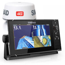 SIMRAD NSS9 evo3 Ecoscandaglio con radar Broadband 4G display HD 9 000-13794-001