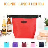 Unisex Lunch Bento Warm Insulation Aluminum Foil Tote Picnic Bag Storage Bag