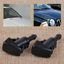 2pcs Windshield Washer Water Spray Nozzle Fit For Chrysler Dodge Jeep Ram 47186