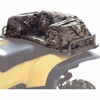 ATV Rear Luggage Rack Storage Bag Camo Waterproof Hunting Gear Cargo Seat Pad