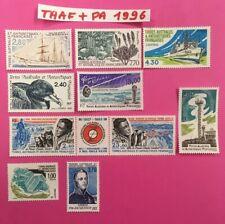 TAAF + POSTE ARIENNE timbre neufs ** ANNEE 1996