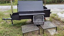 Mobile BBQ Business Smoker Grill Food Truck Catering Trailer Concession Vending