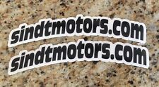 SINDT MOTORS RACING 2X DECAL STICKER EMBLEM TRX450R TRX250R LTR450R RAPTOR 700R