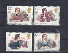 GB 1980  FAMOUS WOMEN , Complete 4V