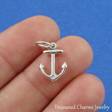 .925 Sterling Silver NAUTICAL ANCHOR CHARM Ship Boat PENDANT