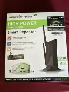 Amped Wireless High Power Wireless 300N Smart Repeater SR300 Like a Router