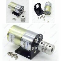 ZGA37RG 12V DC 100 RPM Gear Box Motor 1/34.5 High Torque 3500RPM Reversible Moto