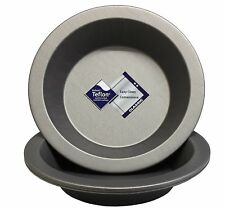 """6 Inch Round Pie Dishes, Set of 4, Teflon ®�""""� Non Stick, British Made by Lets"""