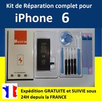 Kit complet de remplacement BATTERIE + OUTILS + STICKERS pour iPhone 6 / 6G