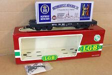 LGB 4085 OF G SCALE WP&YR HB HOFBRAU OKTOBERFEST MUNCHEN 94 CONTAINER WAGON nk