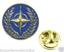 NATO North Atlantic Treaty Organization Lapel Pin Badge