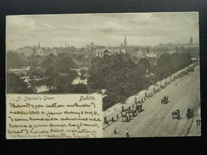 Ireland DUBLIN St. Stephens Green c1904 Postcard by The Wrench Series 1700