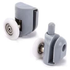 8x Galet Roulette Porte Douche Coulissante Salle de Bain Diametre 23mm blanc