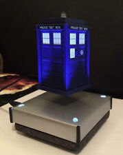 New listing Doctor Who Tardis Model Display -Floats In Mid Air- Meteorite Coated Base