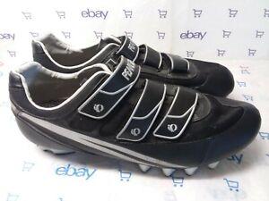 Pearl Izumi Quest Black Cycling Shoes With Cleats Men's EU 48, 12 US