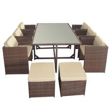 Garten-Tische & Stuhl-Sets aus Polyrattan