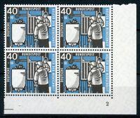 Bund 4er Block MiNr. 273 postfrisch MNH Eckrand Formnummer 2 (H502