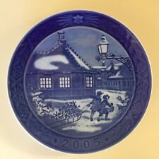 Royal Copenhagen 2005 Plate Hans Christian Anderson House-Nice Condition