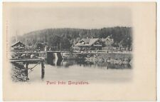 Sweden; Lock At Bengtsfors PPC, Unposted, Undivided Back, c 1900-05