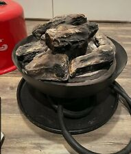 Camco 58031 Little Red Campfire Camp Propane Gas Fire Pit Mini Stove