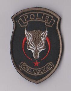 Polizeiabzeichen Türkei  --  Özel Harekat  --  Sondereinheit Terrorbekämpfung  -